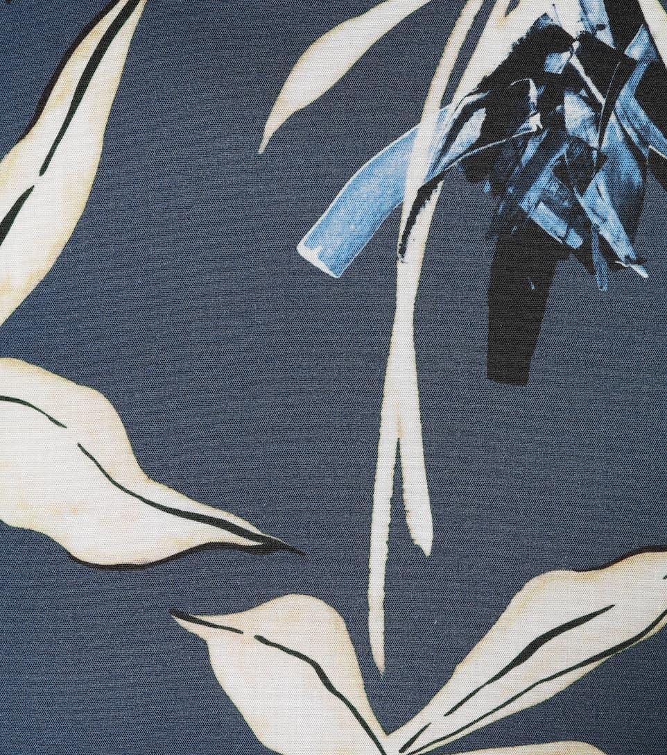 S Max Mara - Robe en coton imprimé Dilly Eastbay En Ligne Jeu Très Pas Cher Qn8gWaO