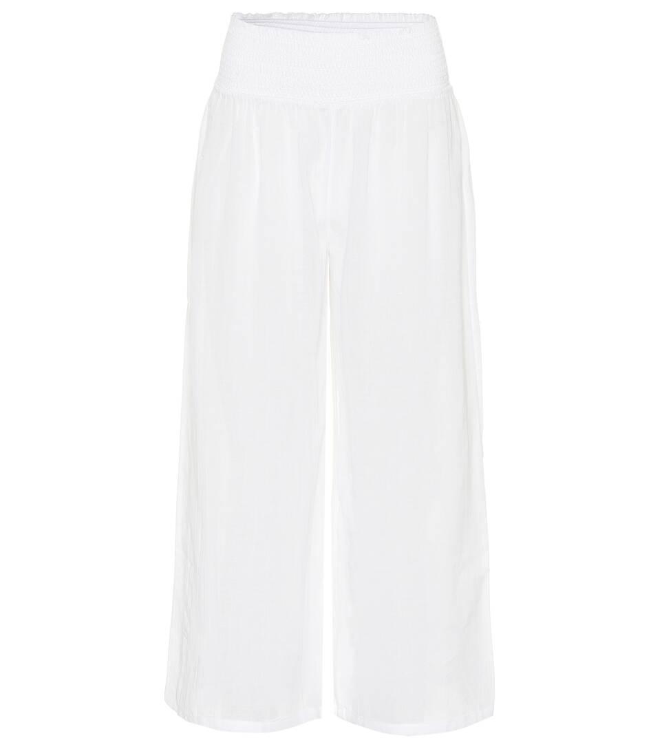 algodón Heidi Pantalones de Klein Seychelles Blanco Cw1w5qSxzn