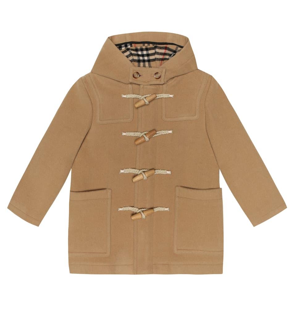 7ce9d6243 Burberry Kids - Wool duffle coat | Mytheresa