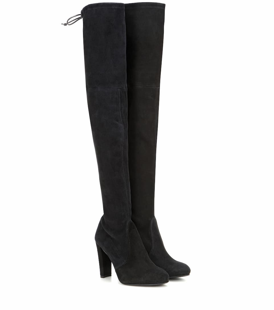 f335ae591eb Highland Suede Over-The-Knee Boots - Stuart Weitzman | mytheresa