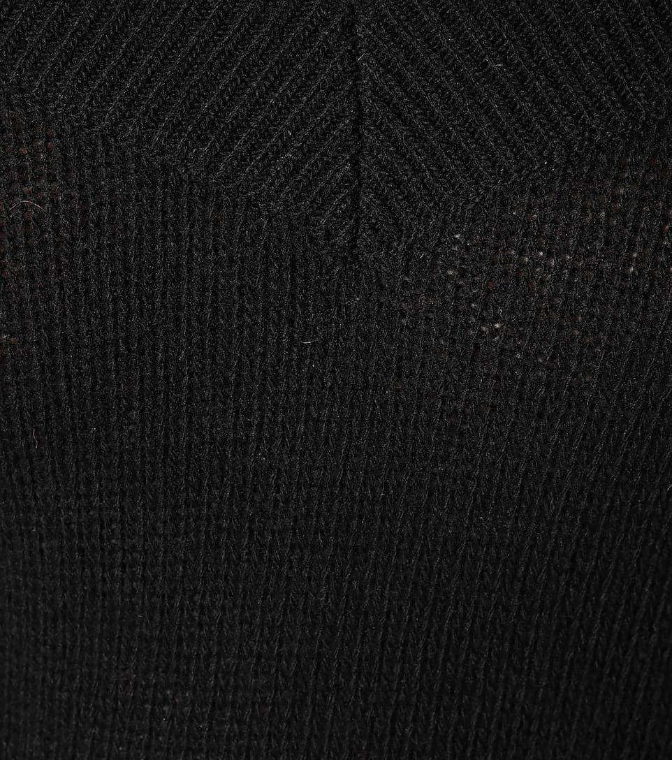 lana Suéter Suéter REDValentino Nero REDValentino REDValentino de Suéter Nero lana Nero de lana de q0pw1Z