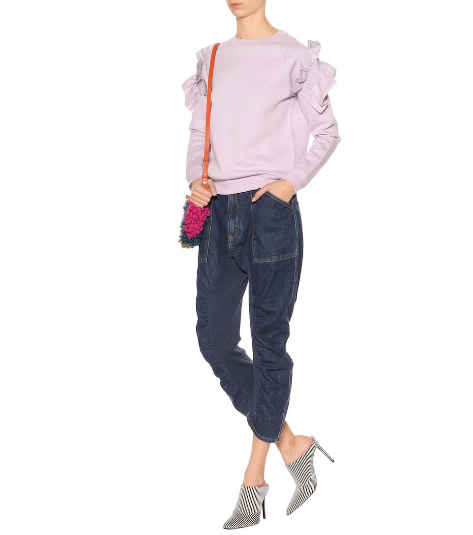 Stella McCartney Sweater mit Rüschen