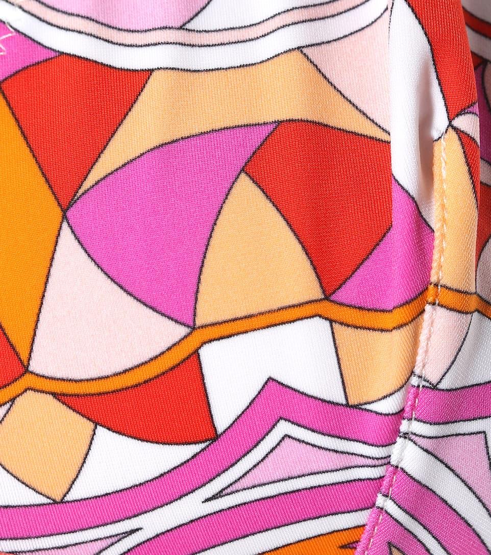 Emilio Pucci Beach Bedruckter Neckholder-Bikini