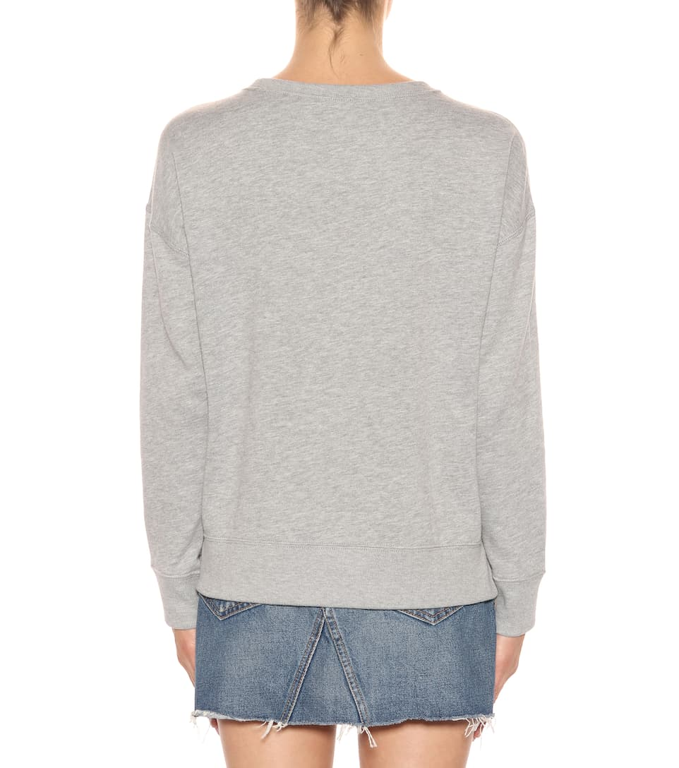Polo Ralph Lauren Besticktes Sweatshirt aus Jersey