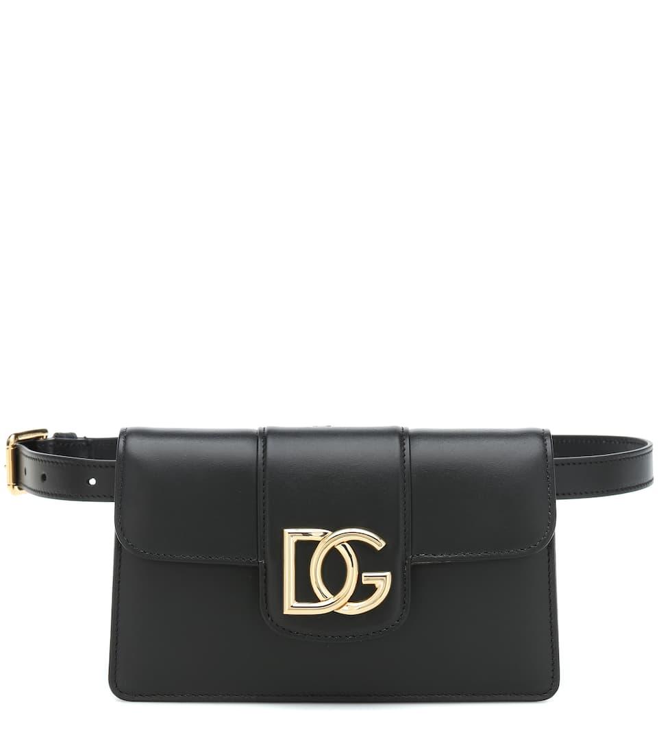 Dg Millennials Leather Belt Bag