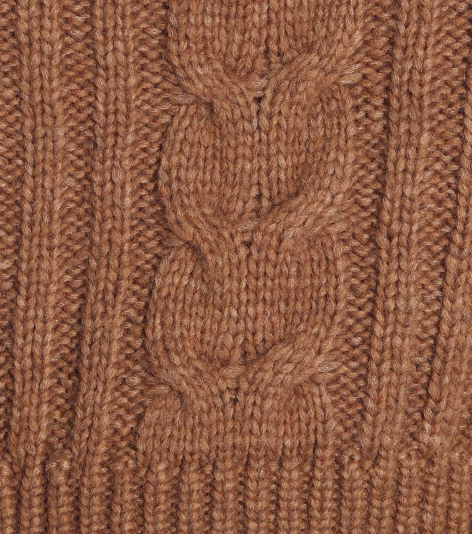 Nanushka - Eria cable-knit sweater