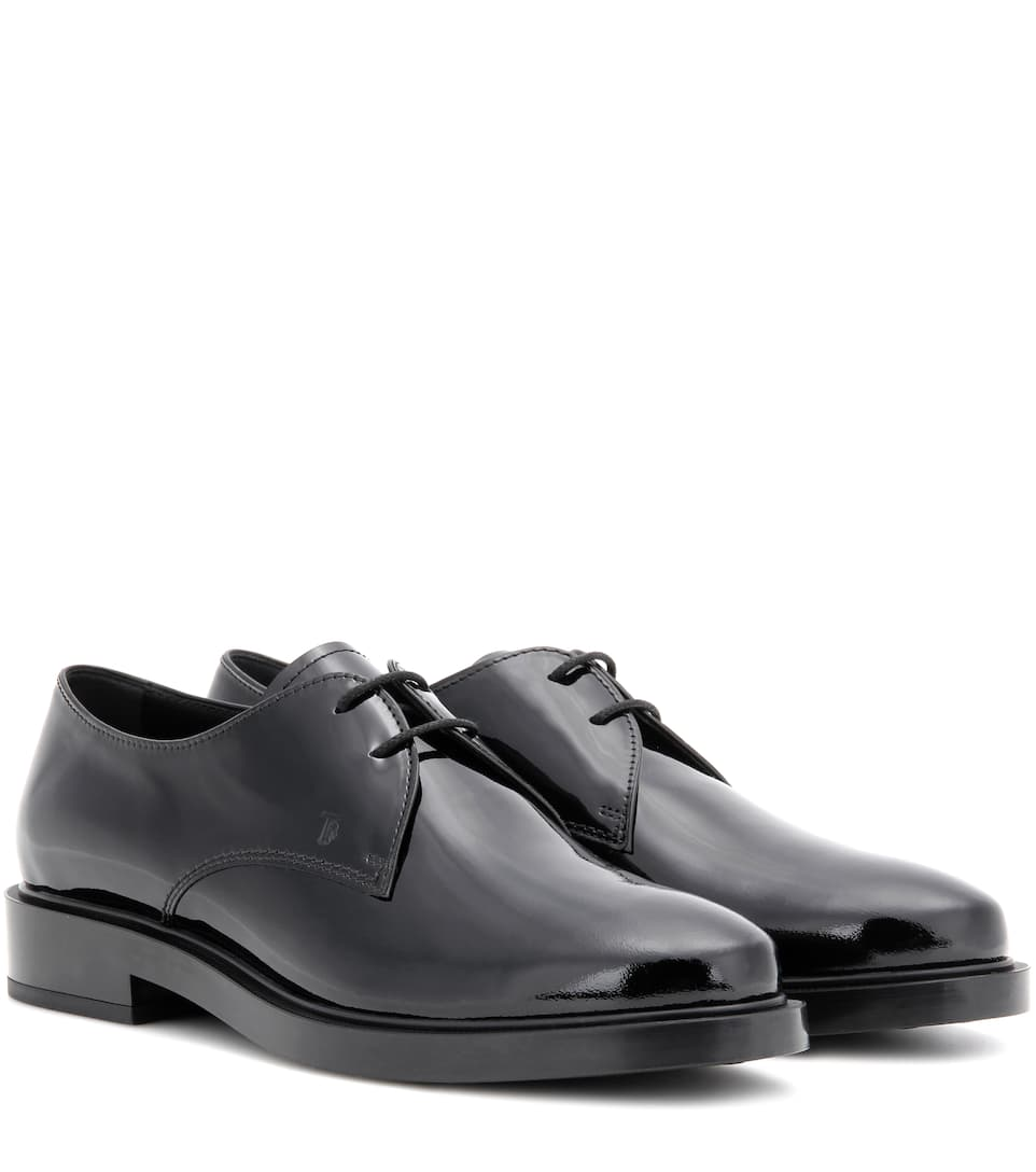 Tod's Patent leather brogues