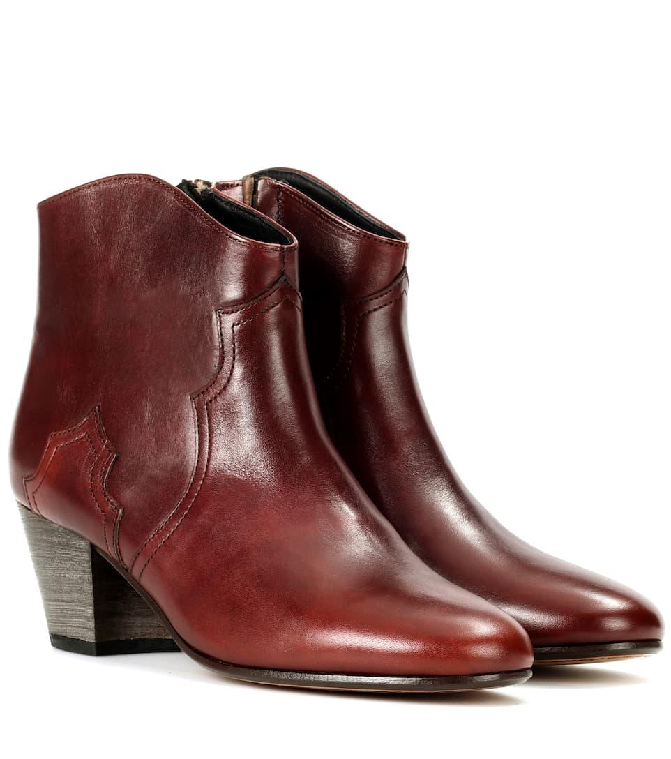Isabel Marant Dicker Ankle Boots aus Leder