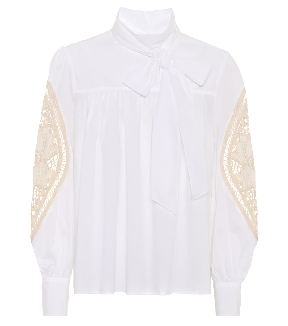 Crochet Cotton Blouse by See By Chloé