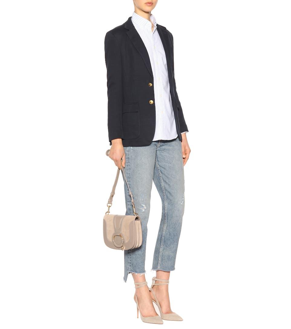 Online Shop Verkaufsfachmann Polo Ralph Lauren Gestreifte Bluse aus Baumwolle Neu BSPE0DVt93