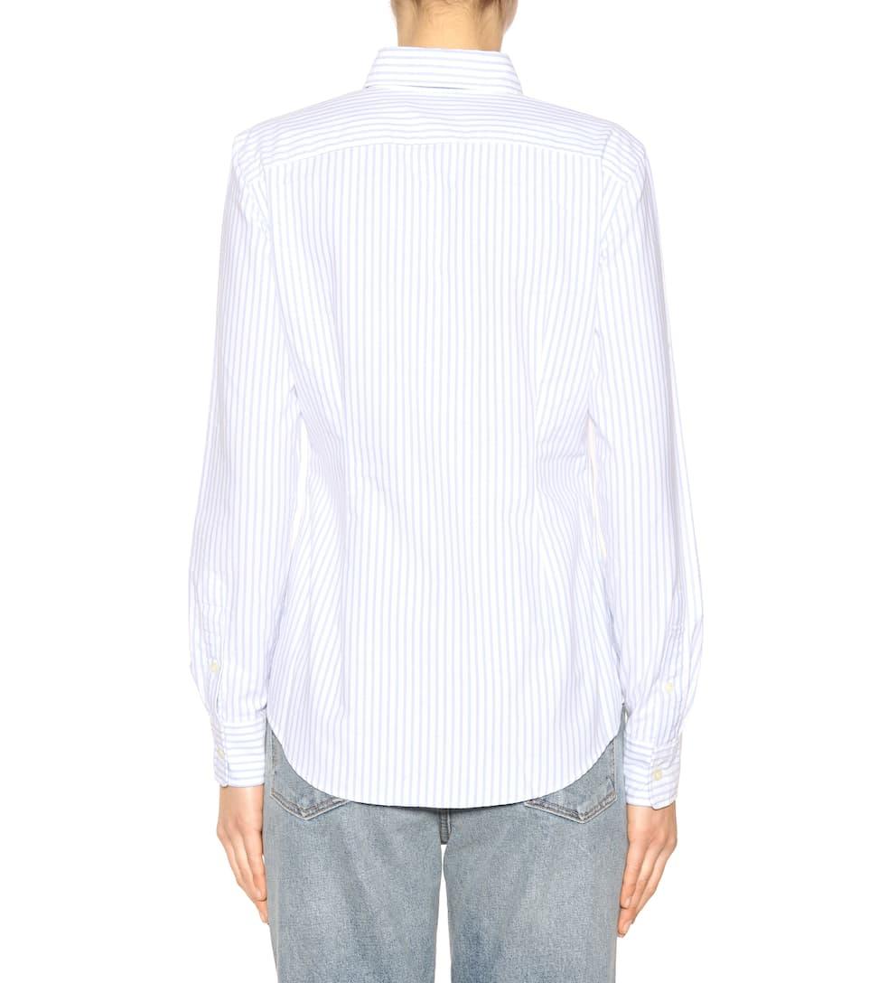 Polo Ralph Lauren Gestreifte Bluse aus Baumwolle