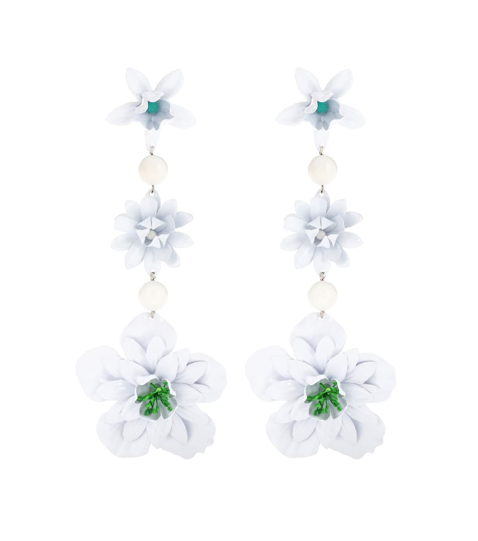 Aloha flower and bead-embellished earrings Isabel Marant GQ8DC