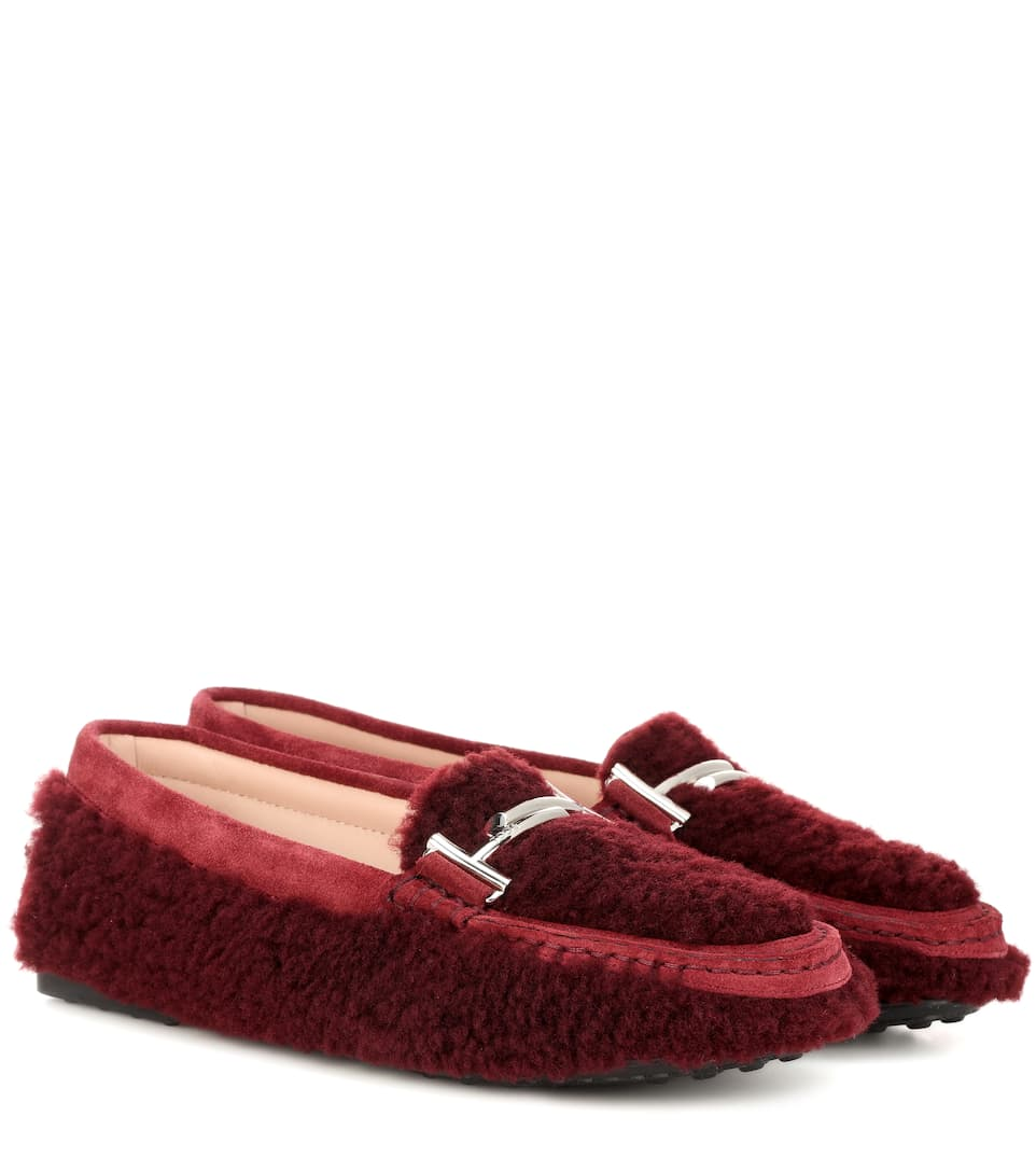 a2d06e66535 Double T Shearling Loafers