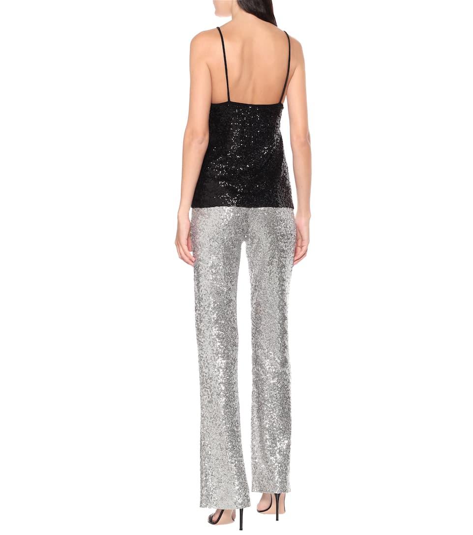 Norma Kamali - Exclusive to Mytheresa – Sequined camisole