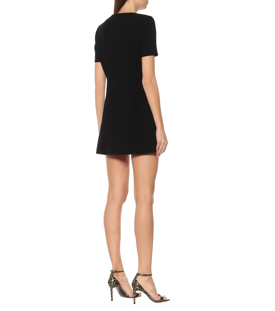 Saint Laurent - Wool minidress