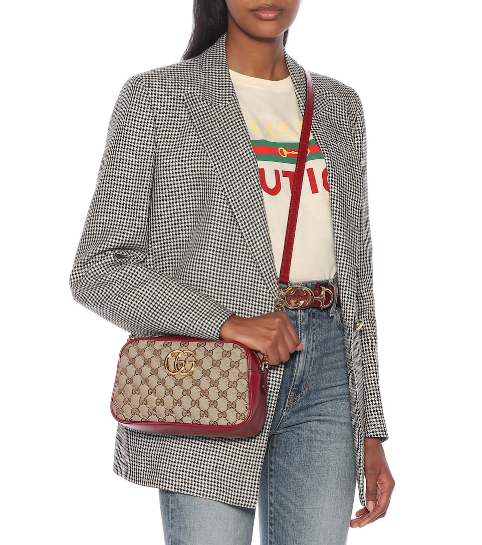 Gg Marmont Small Camera Shoulder Bag Gucci Mytheresa