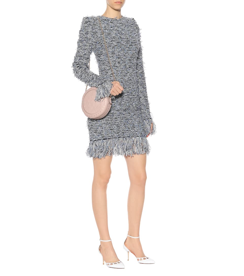 Balmain - Robe en tweed Professionnel Vente Photos Pas Cher En Ligne Pas Cher Avec Mastercard Acheter Pas Cher Offre Images De Sortie f8a1d5ya