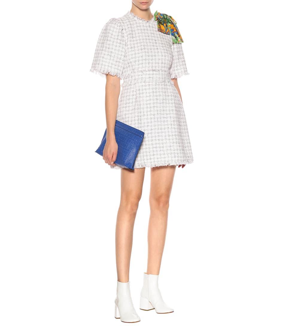 MSGM - Robe en tweed Offres Pour La Vente XHy8L
