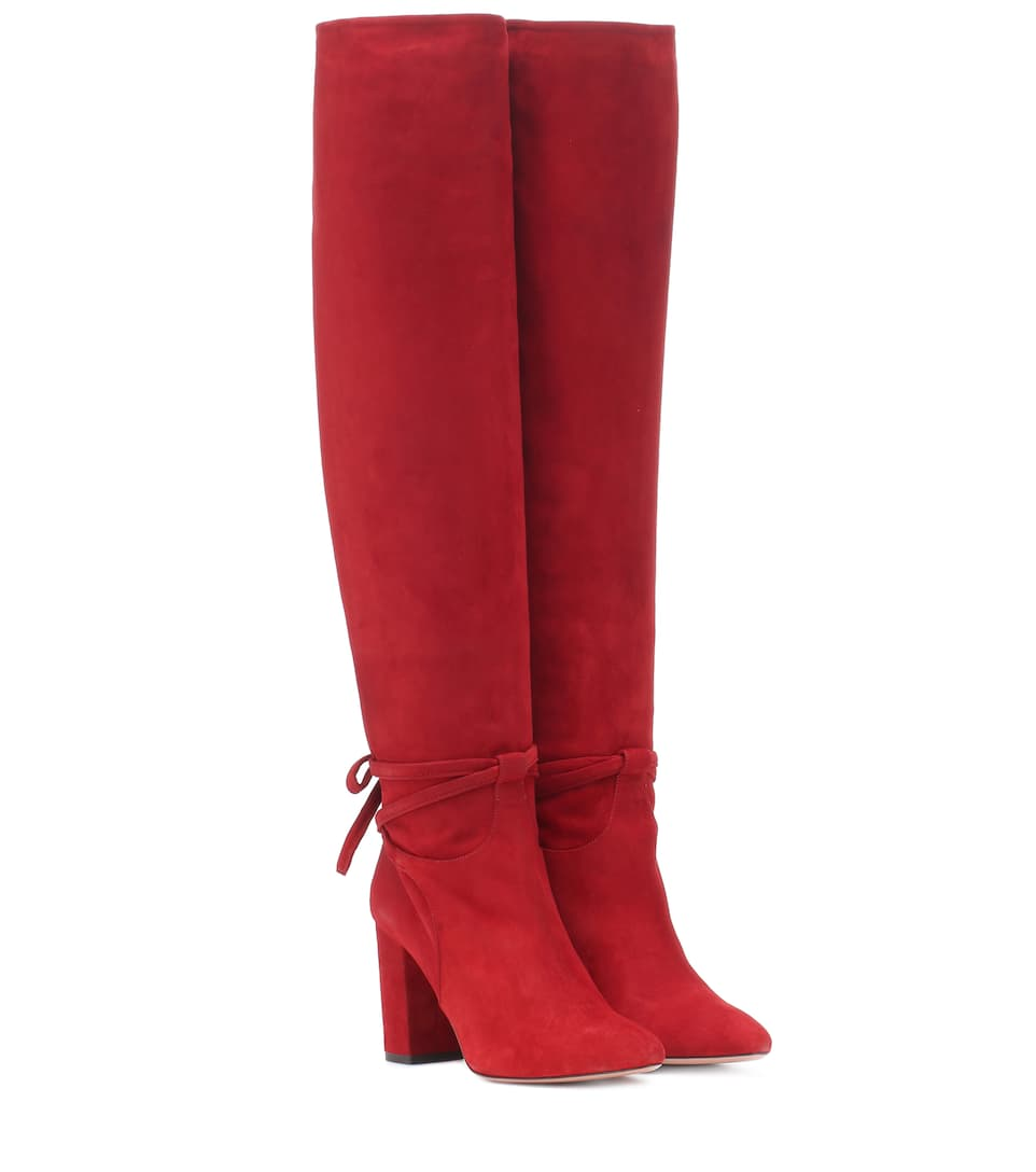 MILANO 85 SUEDE BOOTS