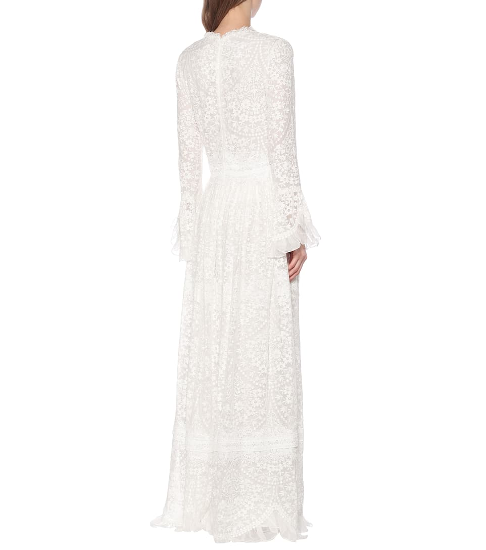 Costarellos - Lace gown