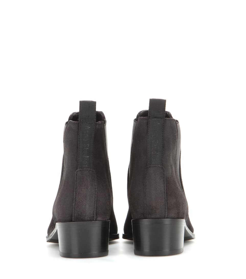 Ebay Online In Deutschland Billig Acne Studios Ankle Boots Jensen aus Veloursleder Billige Sneakernews Billig Zu Verkaufen mzK77SgY