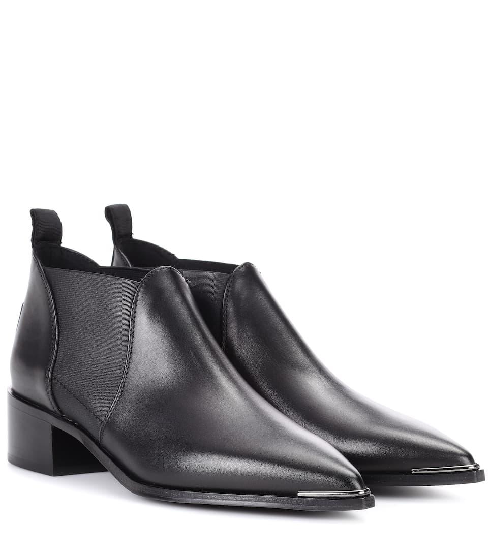 Acne Studios Ankle Boots Jenny aus Leder