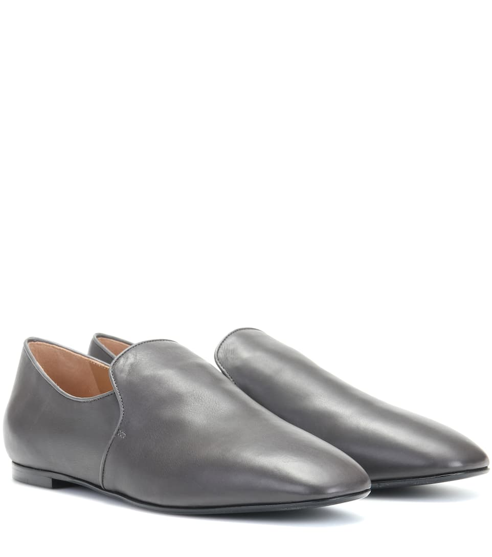 The Row Loafers aus Leder