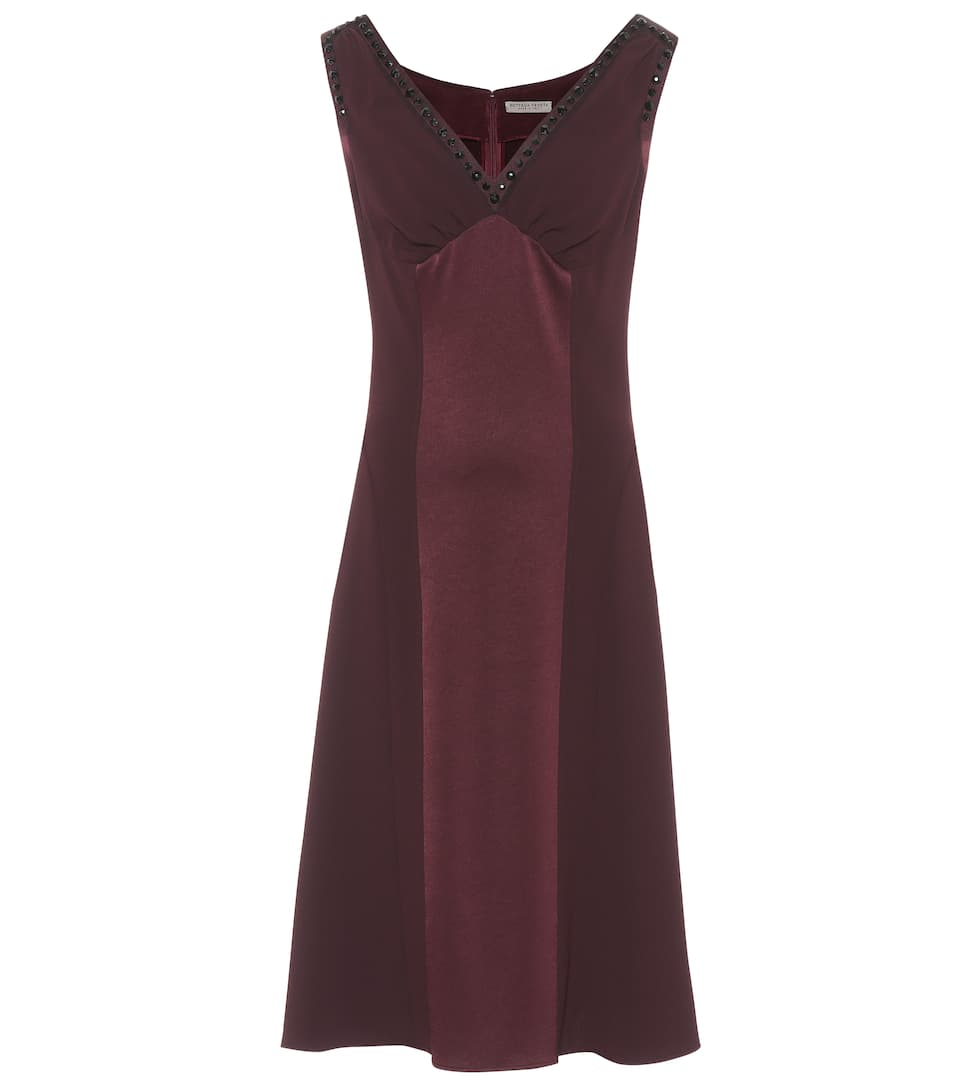 Bottega Veneta Kleid aus Satin und Crêpe