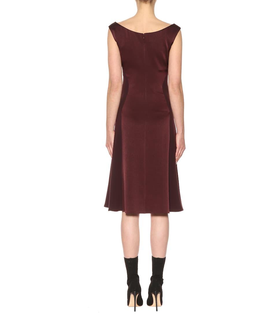 Bottega Veneta Kleid aus Satin und Crêpe Freies Verschiffen Niedriger Versand Original- Bester Verkauf Zum Verkauf Günstig Kaufen Angebote FkGilRfaJF