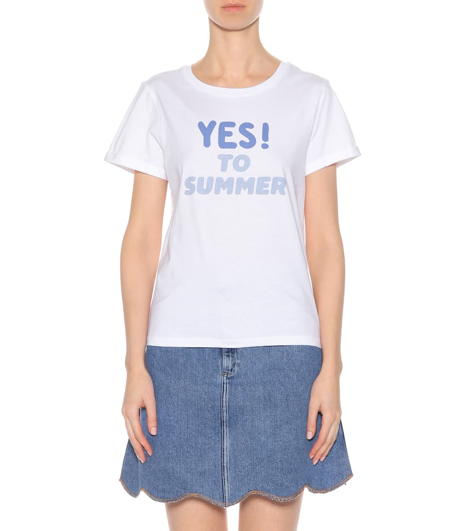 A.P.C. T-Shirt Yes To Summer aus Baumwolle