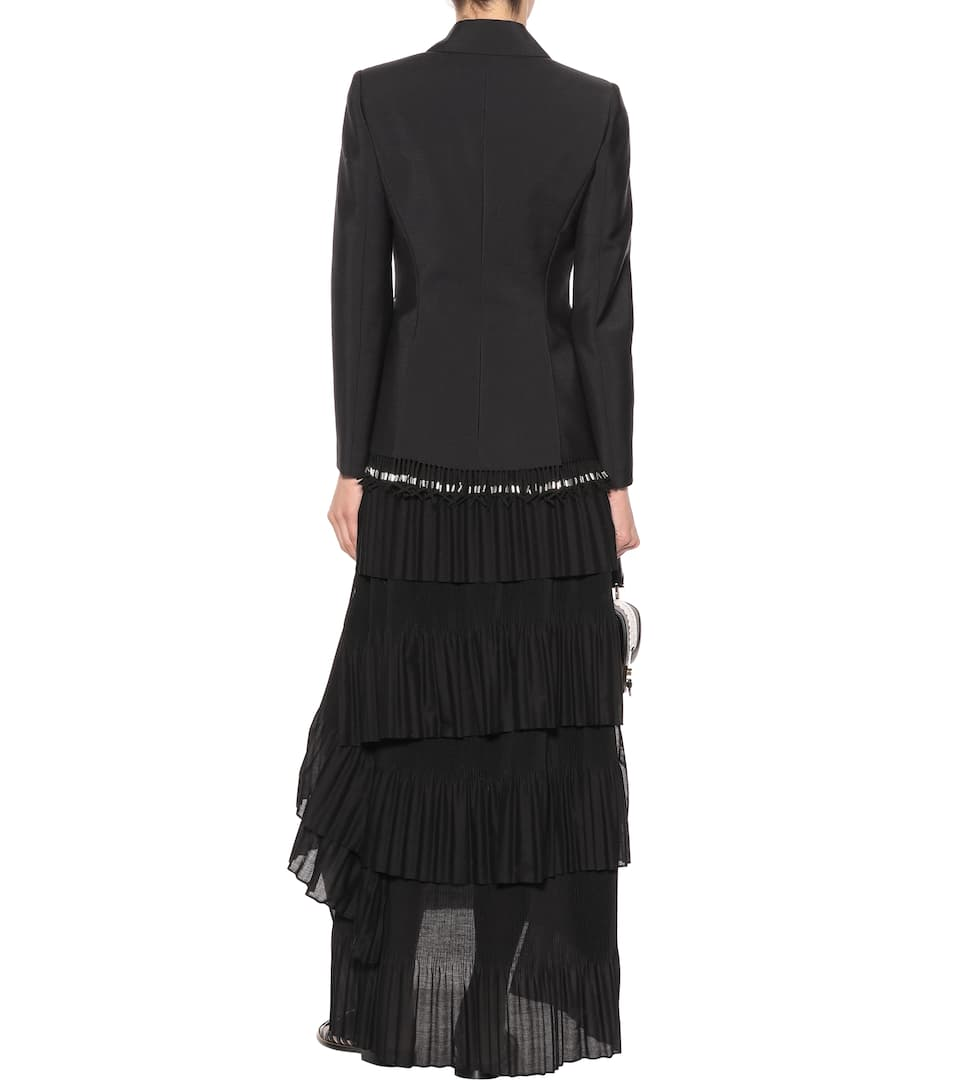 Altuzarra Verzierter Blazer aus Wolle und Mohair