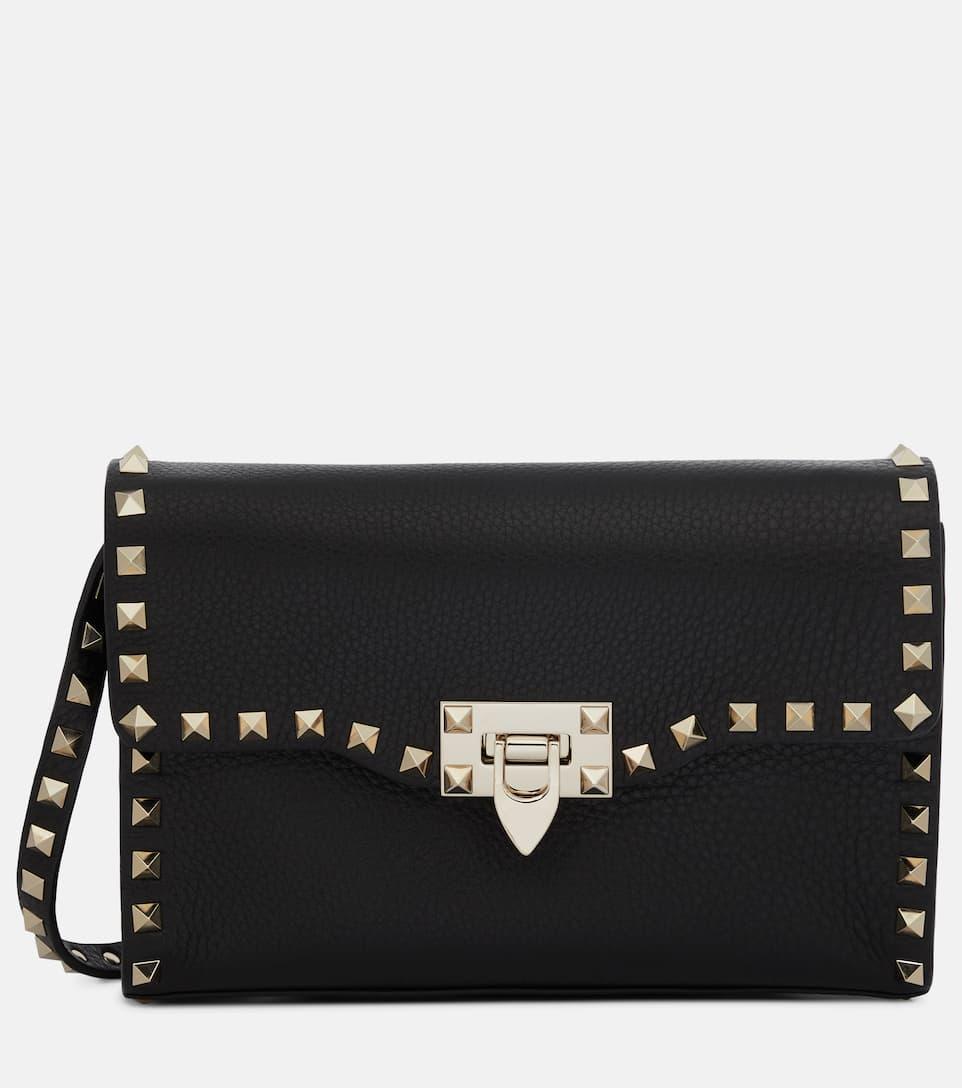 573f911a2c Valentino Garavani Rockstud Medium Leather Shoulder Bag - Valentino ...
