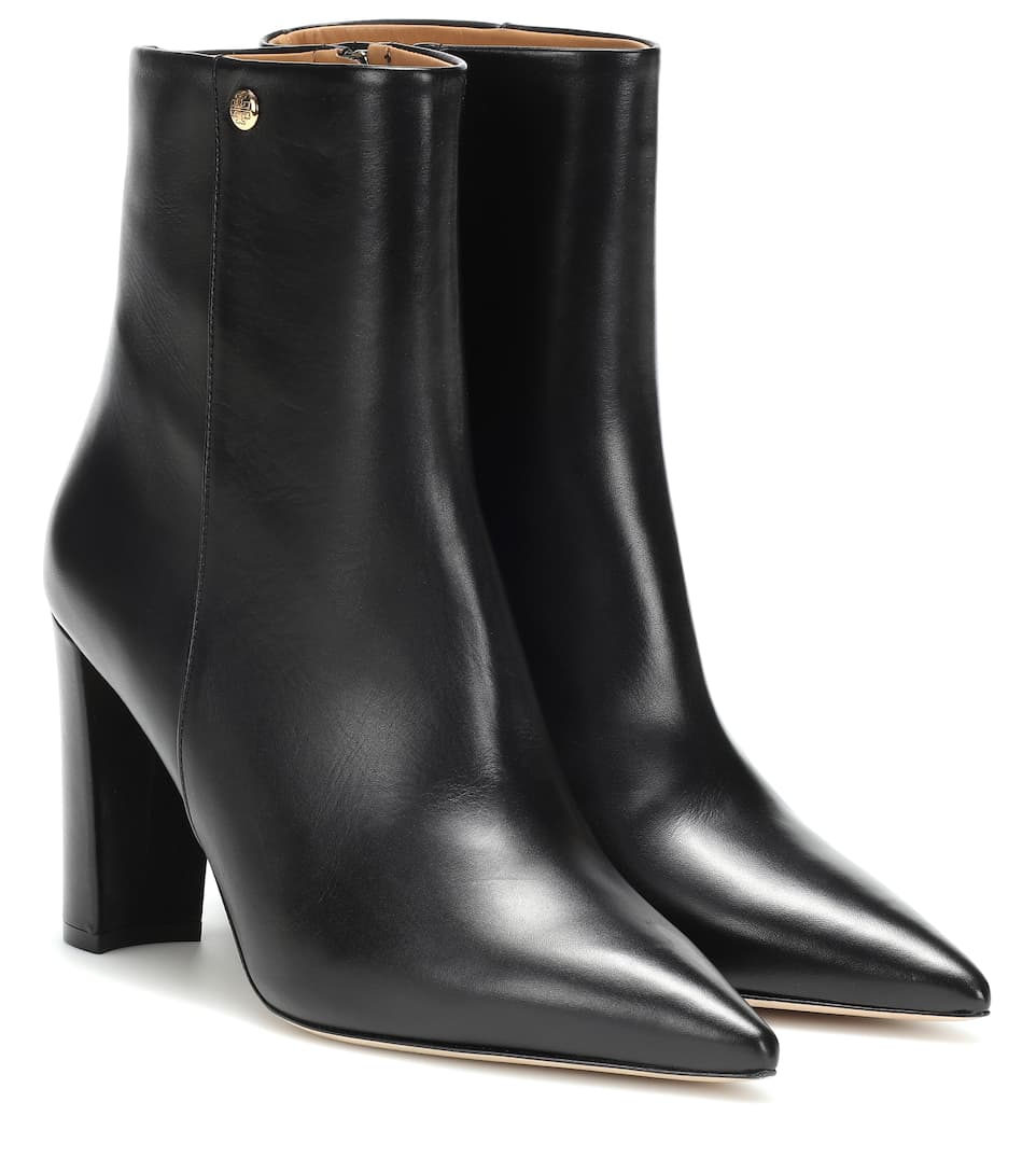 2d824400e29e Penelope 90 Leather Ankle Boots - Tory Burch