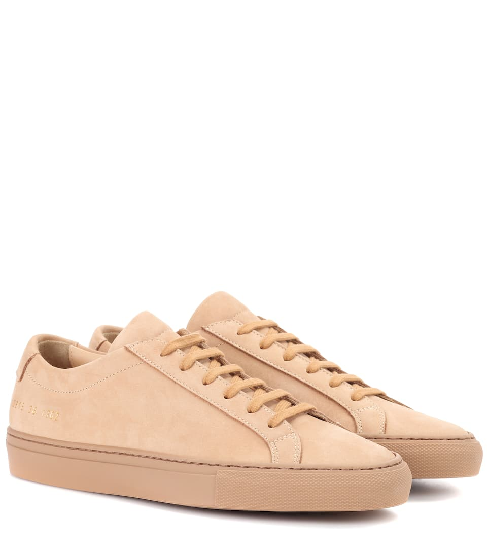 Original Achilles Suede Sneakers - Tan Common Projects 1G3gH