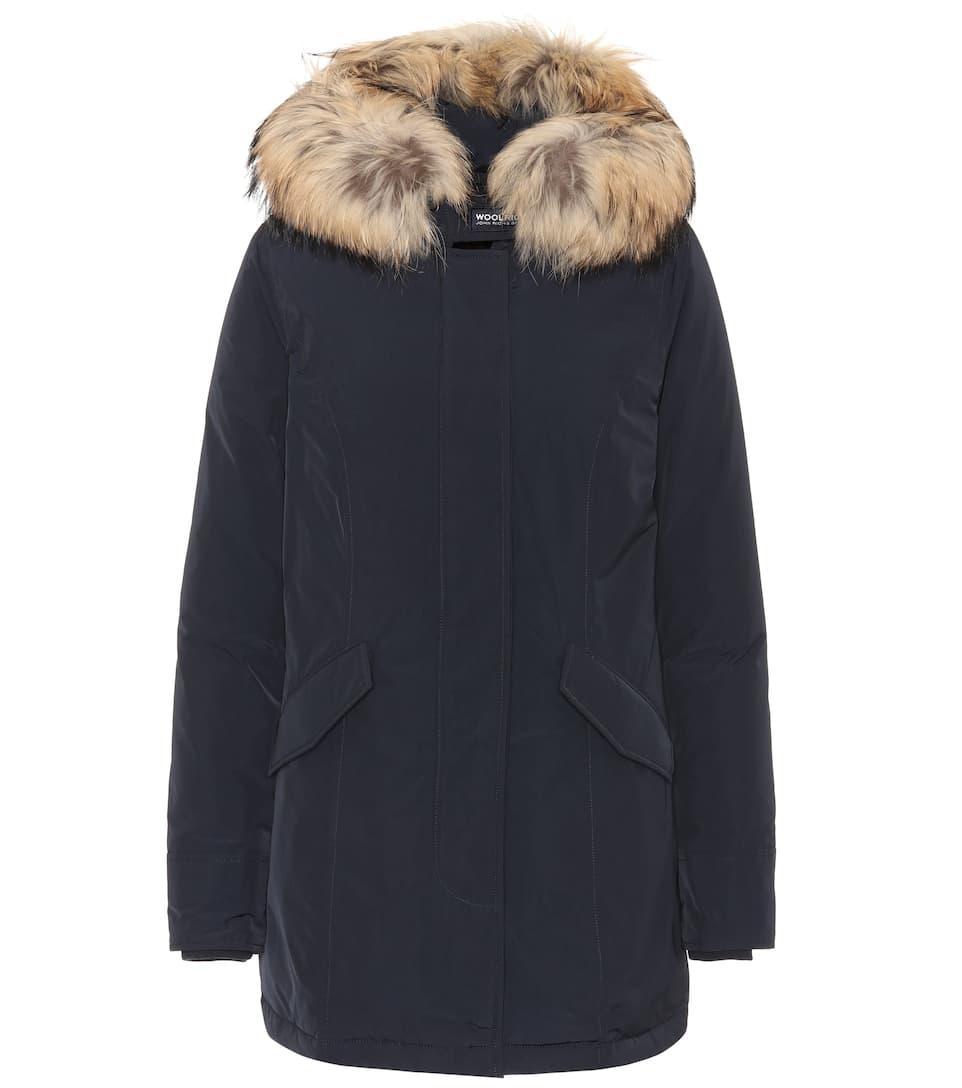 Woolrich Blu Arctic Luxury W's Parka Notte Donna OwOB4gxZ