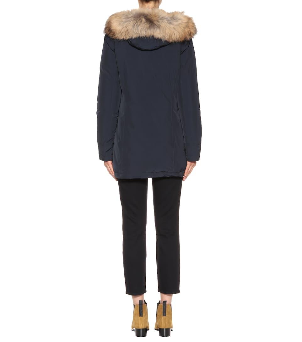 Blu Parka Arctic Notte Donna W's Luxury Woolrich w8F7X4q8