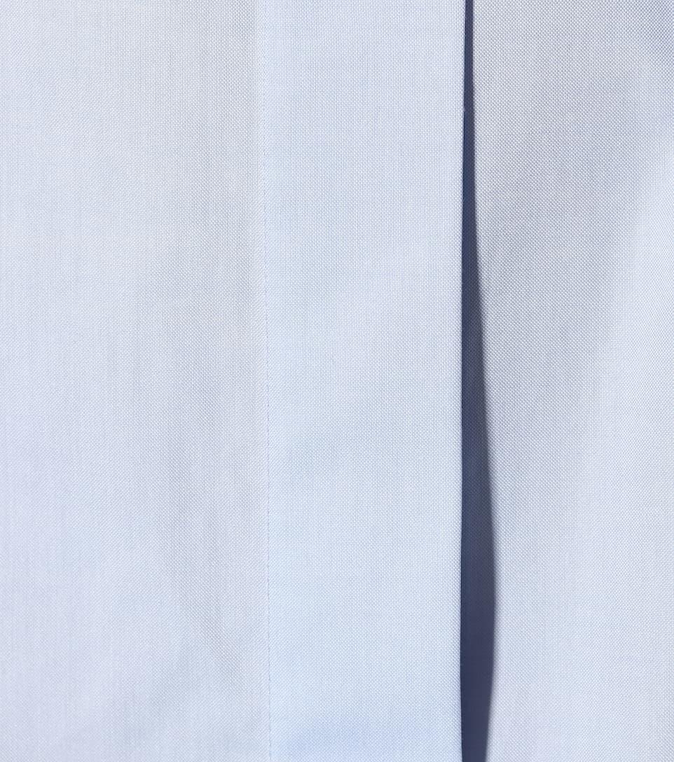 Réduction Très Pas Cher chaud The Row - Robe en chambray de coton Lira VD3iSNK3c