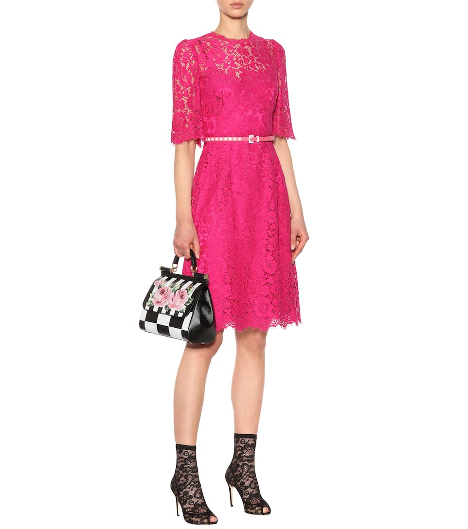 Dolce & Gabbana Minikleid aus Spitze