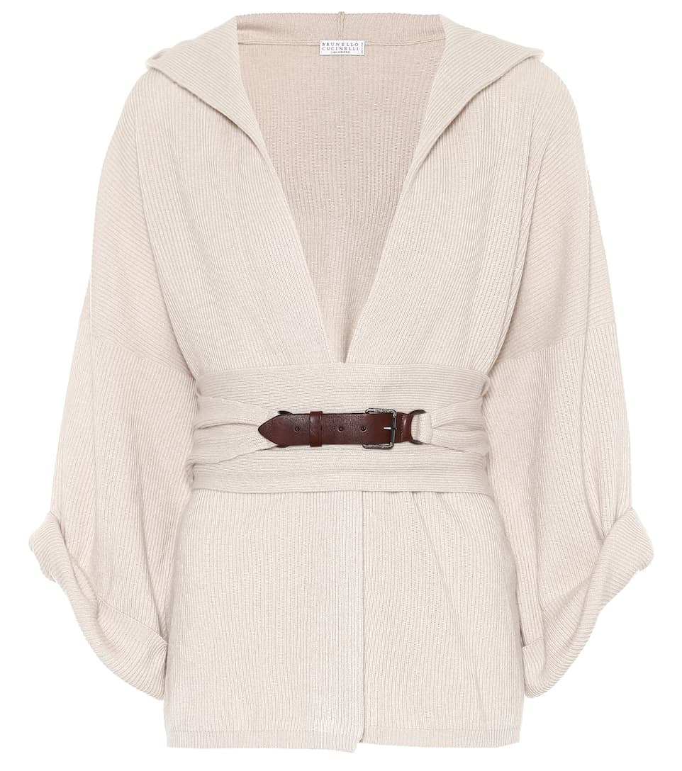 Hooded Cashmere Sweater by Brunello Cucinelli