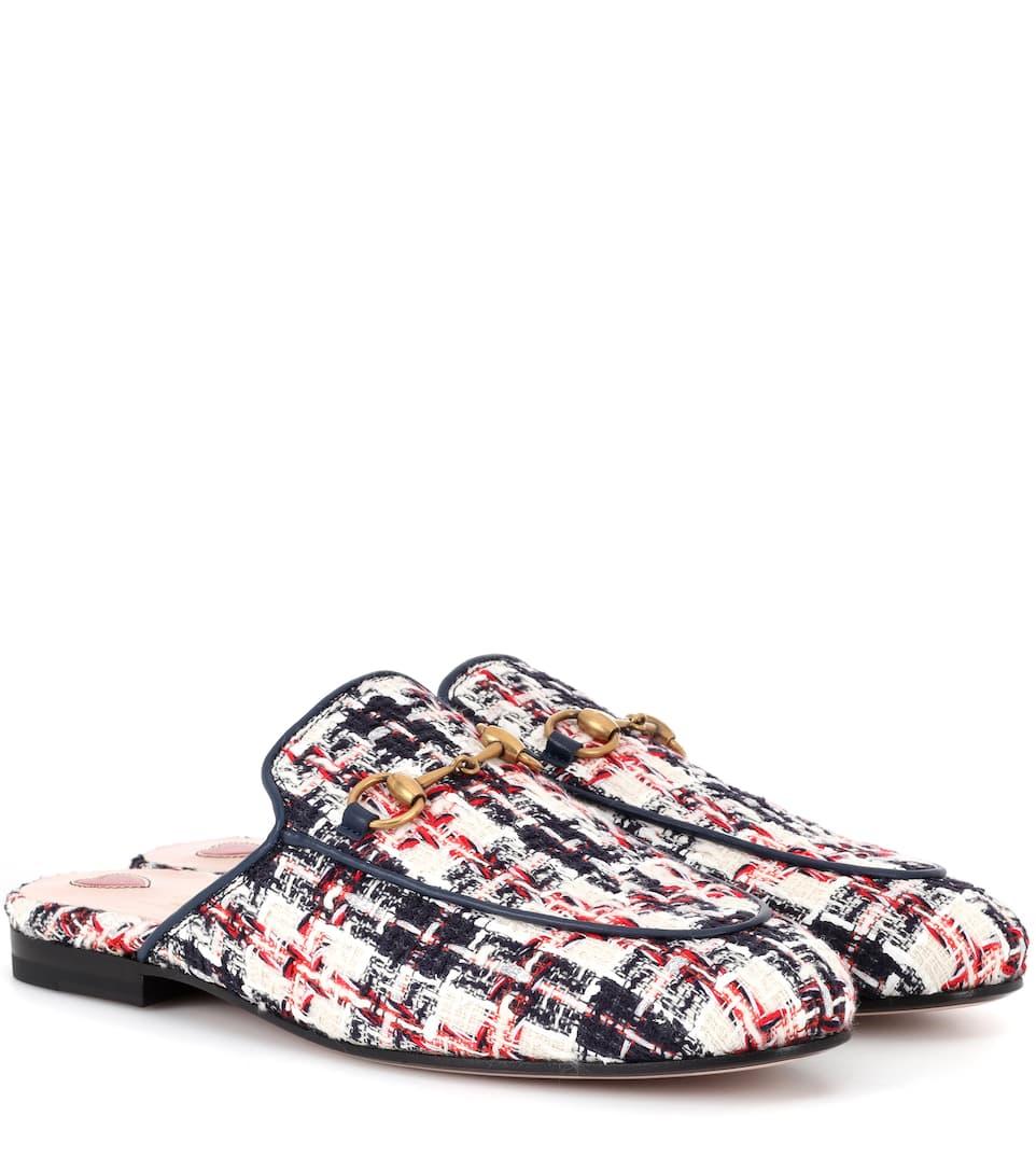 68dcd304b6f Princetown Tweed Slippers