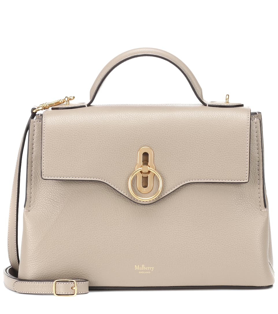 Sac à Bandoulière En Cuir Seaton Small by Mulberry
