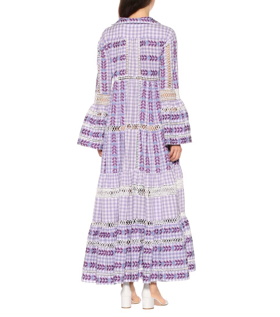 Dodo À Robe Coton Bar Longue En Or Ornements lTFKc3J1
