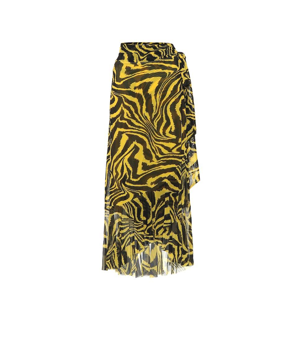 animal-print-midi-skirt