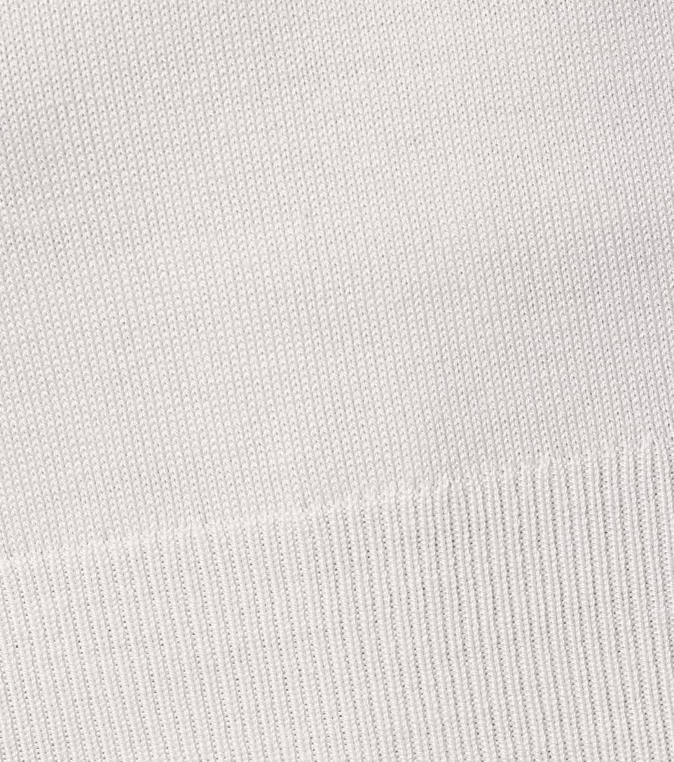 Chloé - V-neck wool-blend sweater