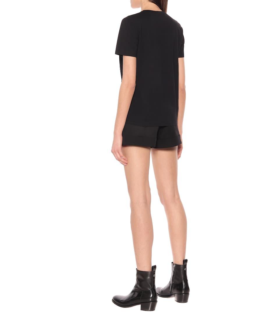 Logo Cotton-Jersey T-Shirt | Balmain - Mytheresa