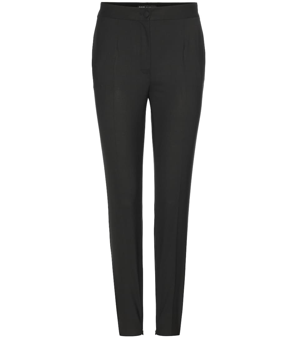 Dolce & Gabbana Cropped wool trousers