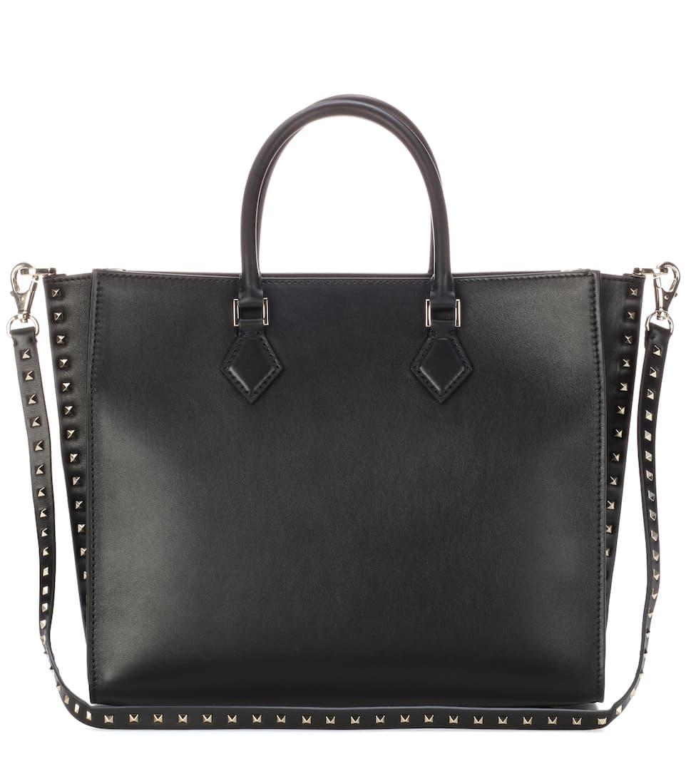 Garavani Rockstud leather tote Valentino jCAbAn1dII