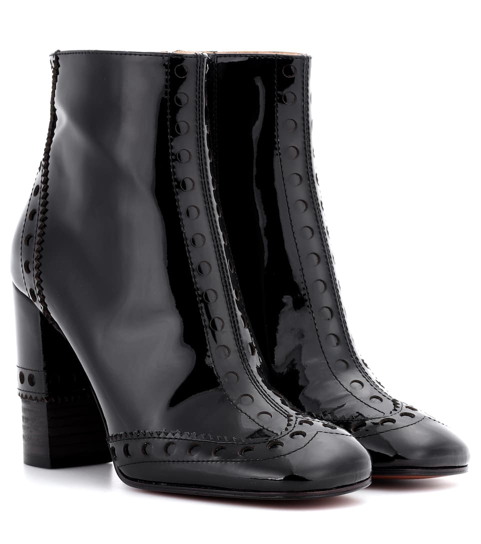0cb9ebf89944 Perry Patent Leather Ankle Boots