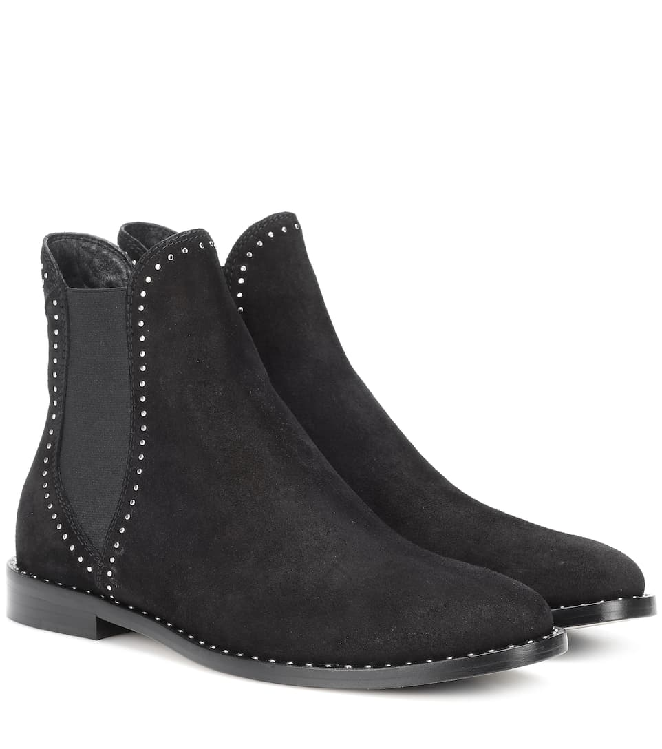 614c7f9813d1 Merril Suede Ankle Boots - Jimmy Choo