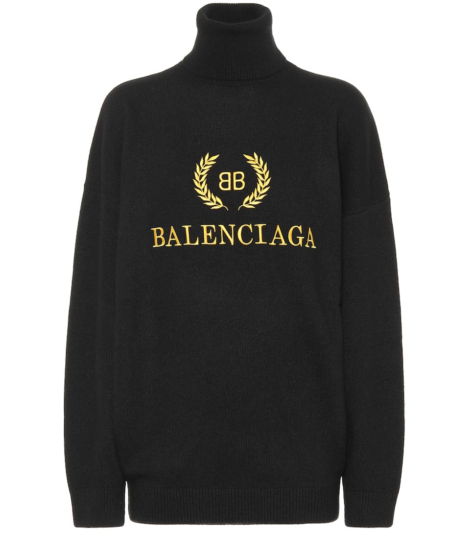8a0948cf84c7c Wool And Cashmere Sweater - Balenciaga